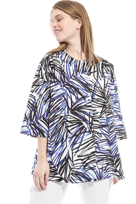 Printed cotton tunic Diffusione Tessile
