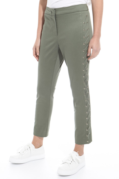 Laced trousers Diffusione Tessile