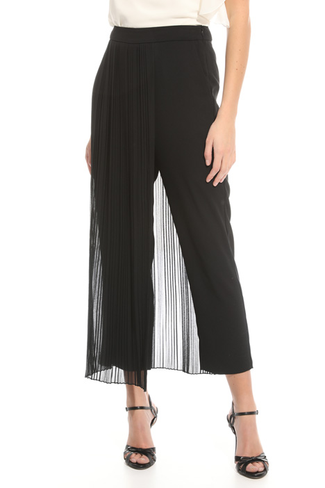 Pleated panel trousers Diffusione Tessile