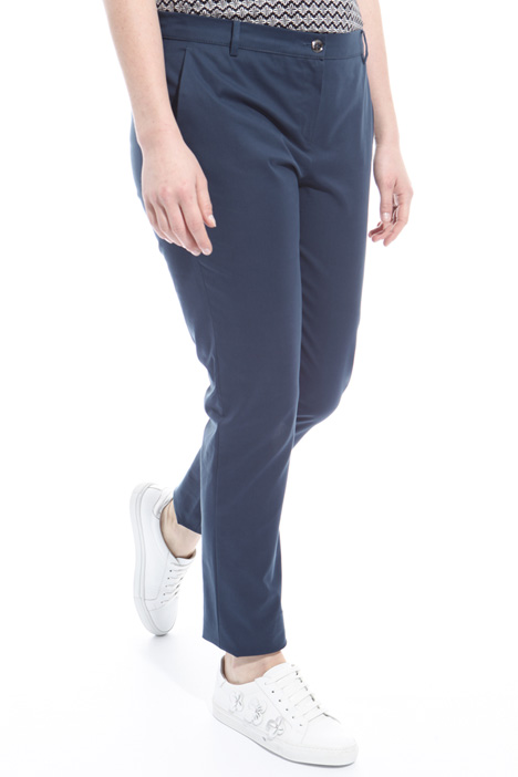 Cotton canvas trousers Diffusione Tessile