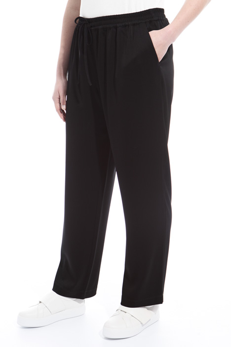 Pantalone lungo in triacetato Intrend