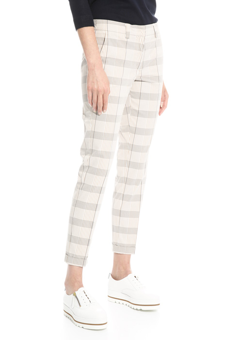 Stretch cigarette trousers Diffusione Tessile