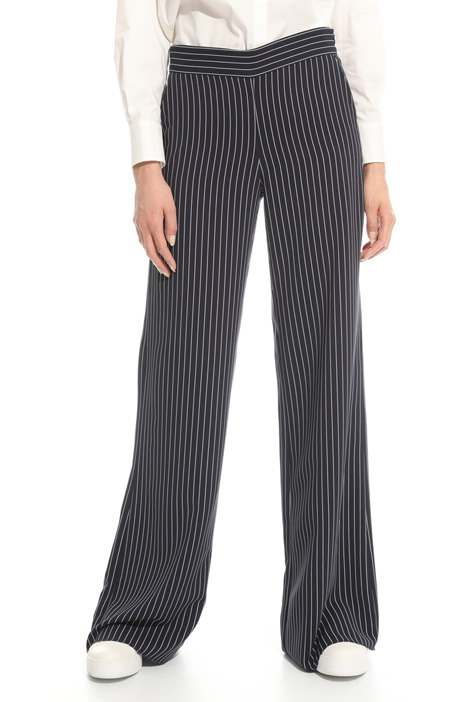 Cady palazzo trousers Diffusione Tessile