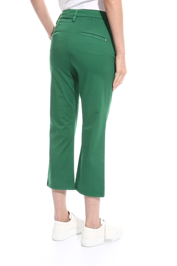 Flared satin trousers Intrend
