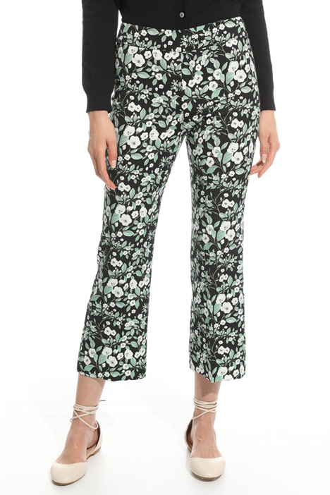 Stretch faille trousers Diffusione Tessile
