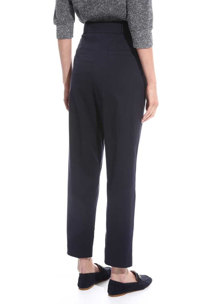 Stretch high-waisted trousers Intrend