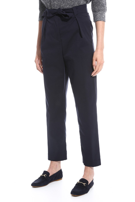Stretch high-waisted trousers Diffusione Tessile
