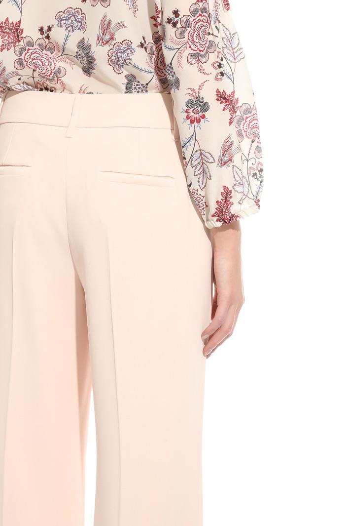 Crepe sablé trousers Intrend