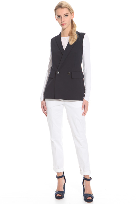 Gilet in tela stretch Intrend