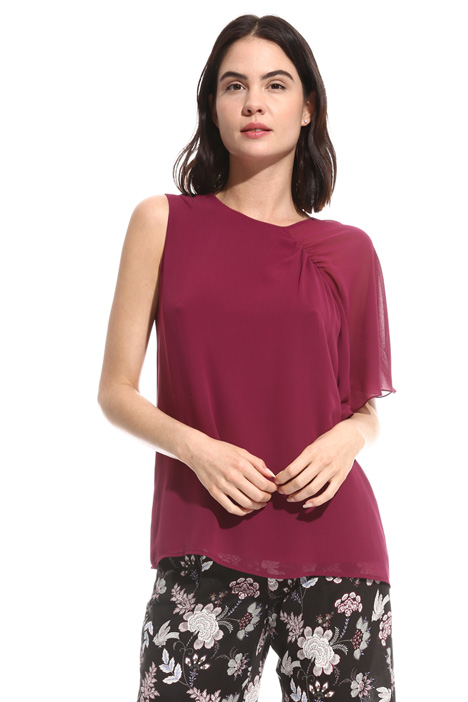 Georgette one shoulder top Intrend