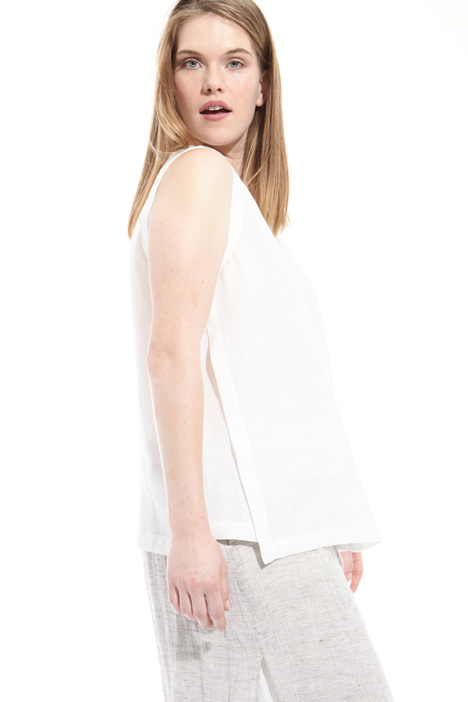 Linen sleeveless top Intrend