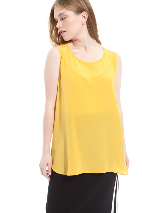 Crepe de chine top Intrend
