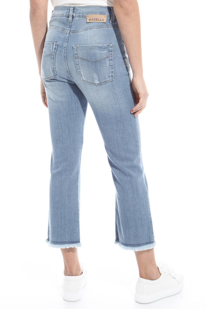 Five pocket flared jeans Intrend