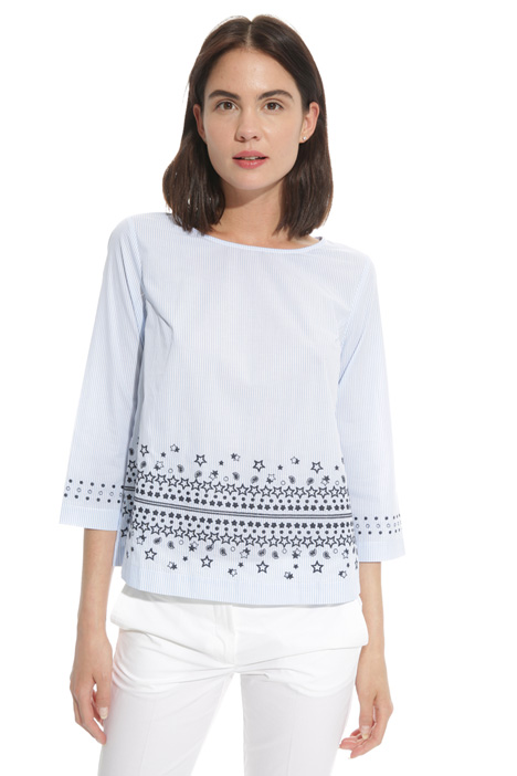 Embroidered tunic Diffusione Tessile
