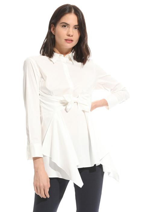 Knotted sash shirt Diffusione Tessile