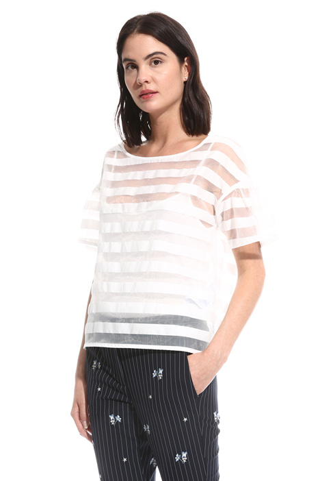 Devoré cotton top Intrend