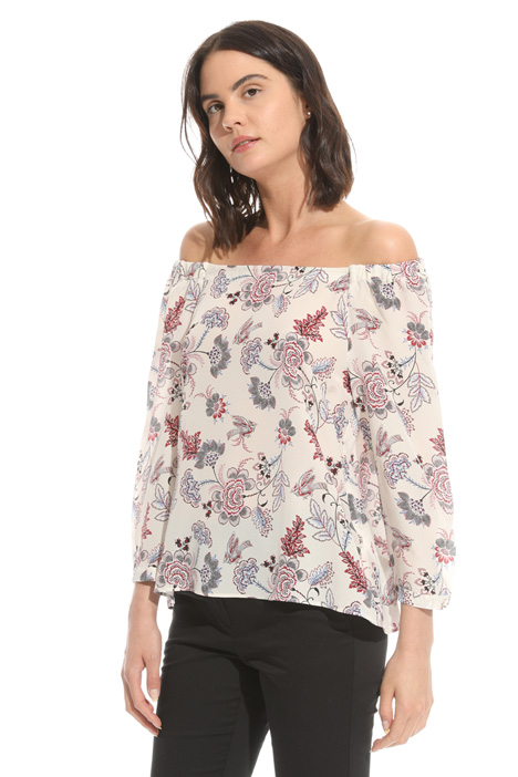Bardot neckline top Intrend