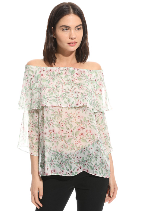 Silk chiffon top Intrend
