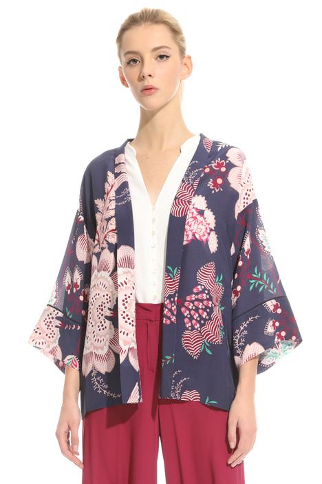Kimono in crepe de chine Intrend