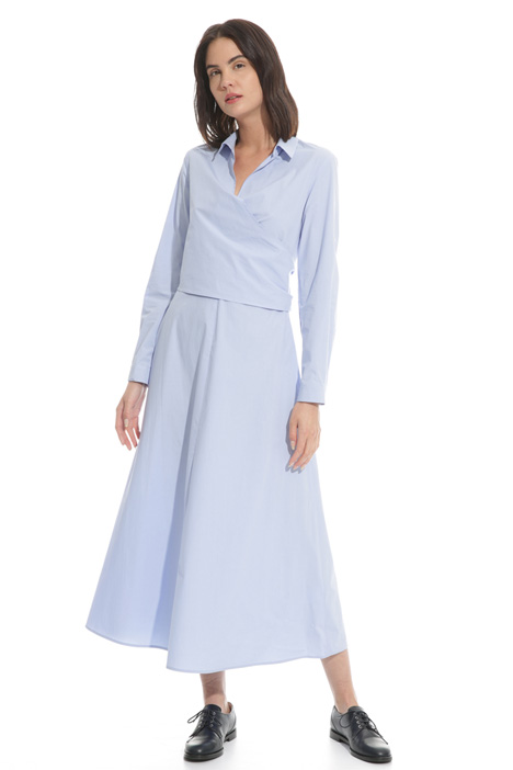 Poplin chemisier dress Intrend