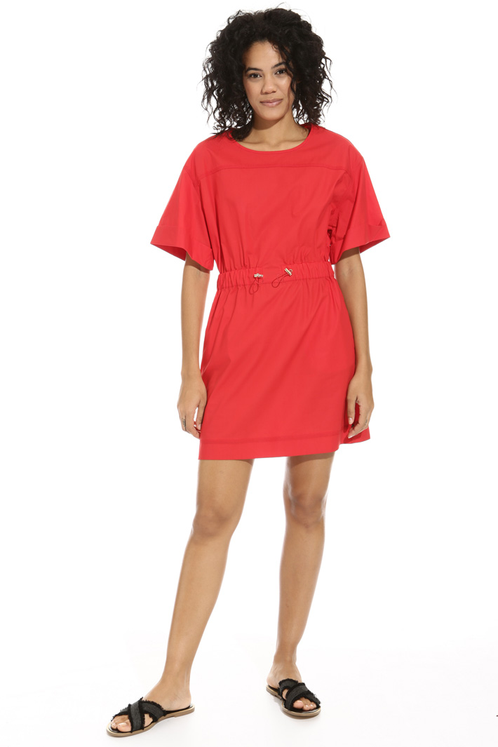 Mini dress in poplin Intrend