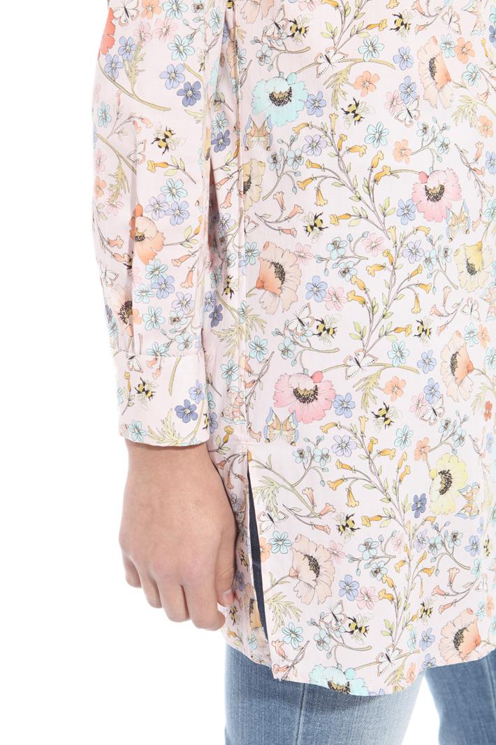 Mini dress in poplin Intrend