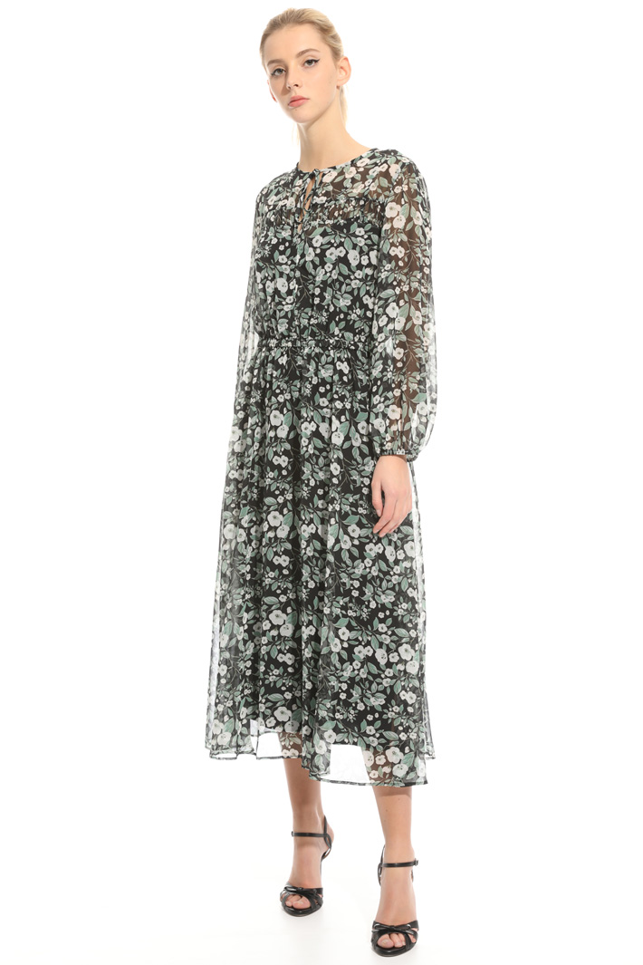 Midi printed dress Intrend