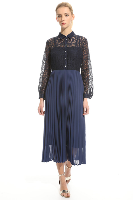 Lace and georgette dress Intrend