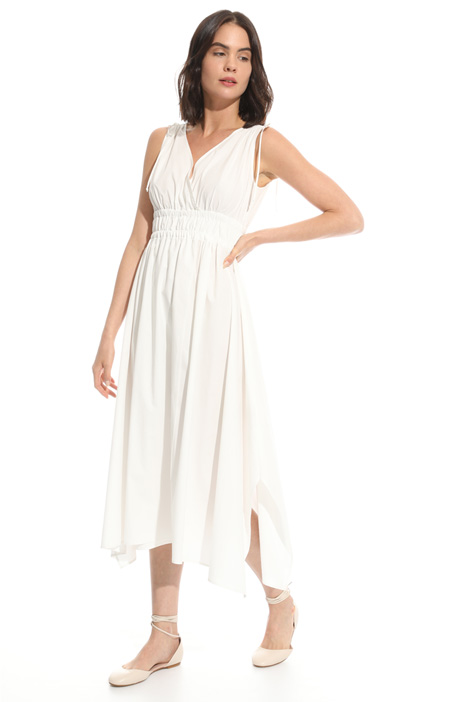 Flared poplin dress Diffusione Tessile