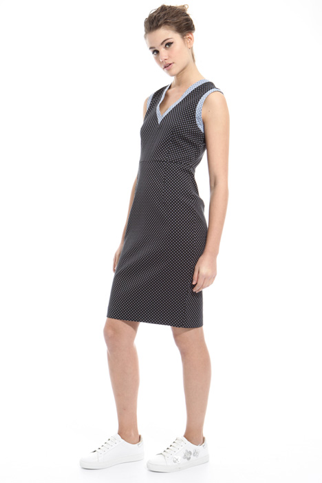 Stretch jacquard dress Intrend