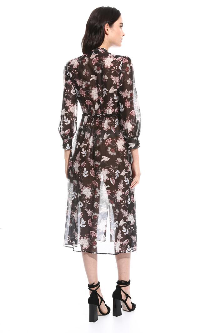 Silk muslin dress Intrend