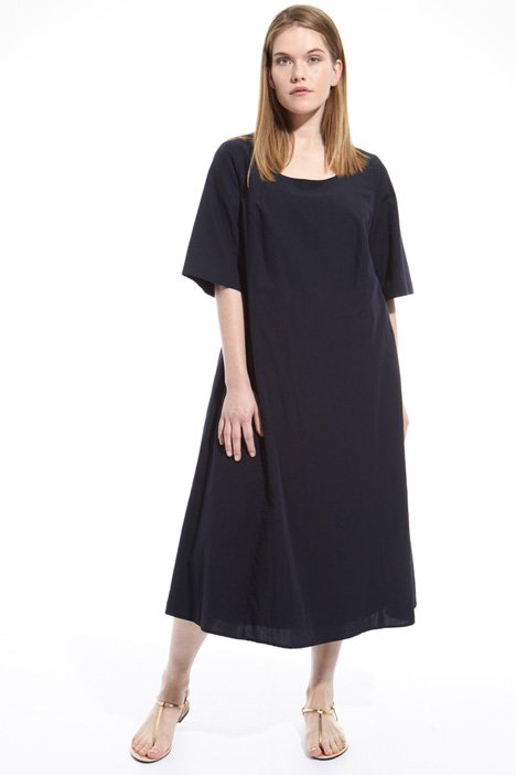 Cotton dress with pockets Diffusione Tessile