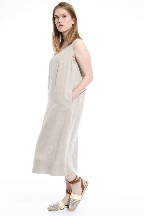 Linen canvas dress Intrend