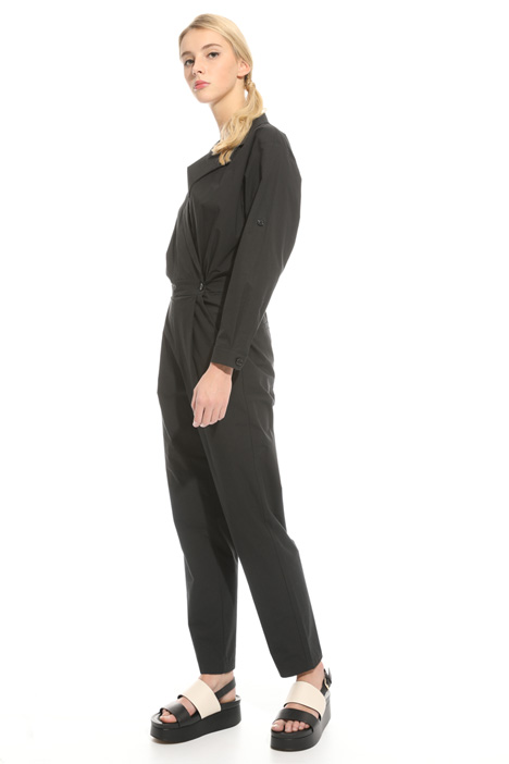 Cotton poplin jumpsuit Intrend