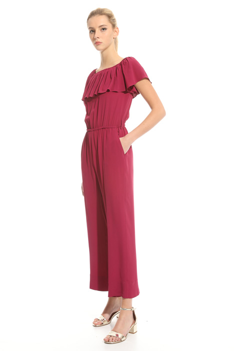 Flounced overlay jumpsuit Intrend