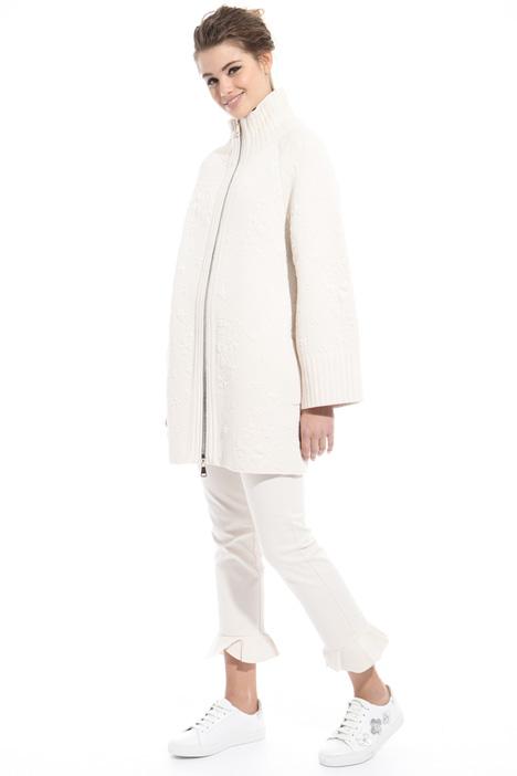 Matelassé jersey coat Diffusione Tessile