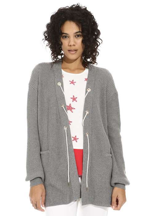 Lurex rope cardigan Intrend