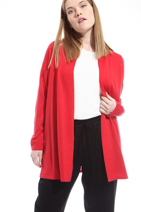 Cardigan in lana e cachemire Diffusione Tessile