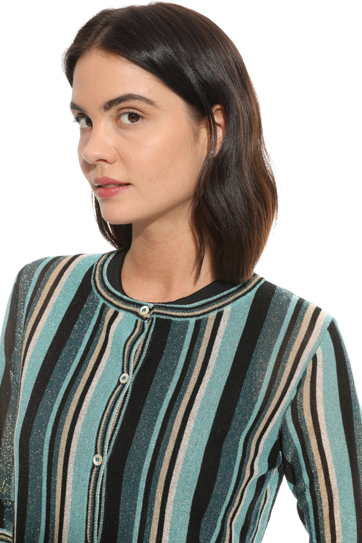 Lurex yarn cardigan Intrend