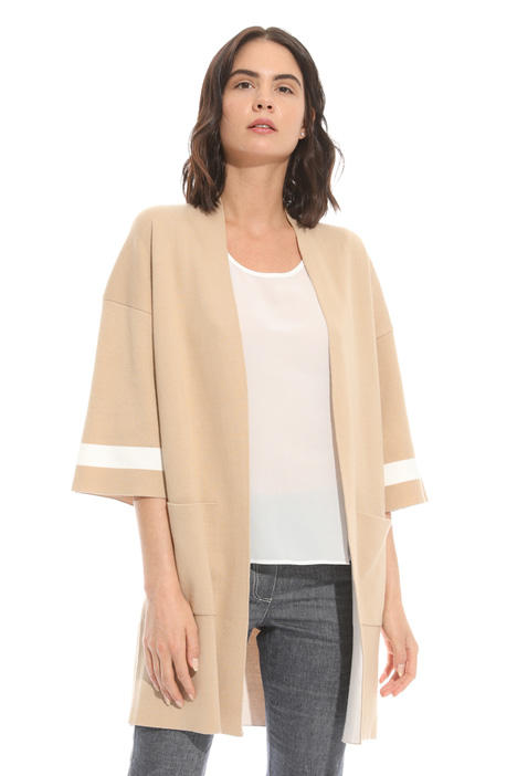 Cotton cardigan with pockets Intrend
