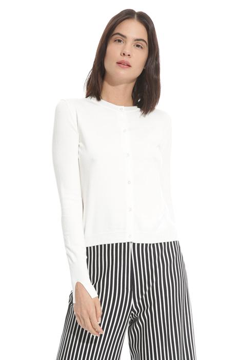 Buttoned cardigan Diffusione Tessile