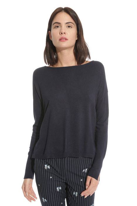 Stretch viscose sweater  Diffusione Tessile