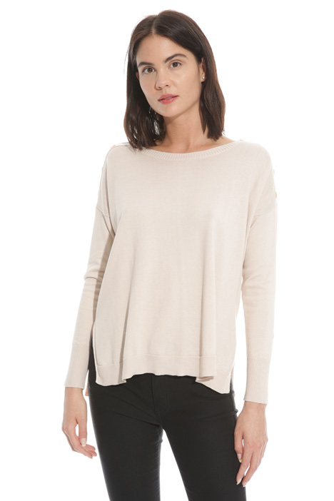 Cotton and silk sweater Diffusione Tessile