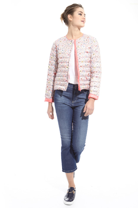 Short reversible jacket Diffusione Tessile
