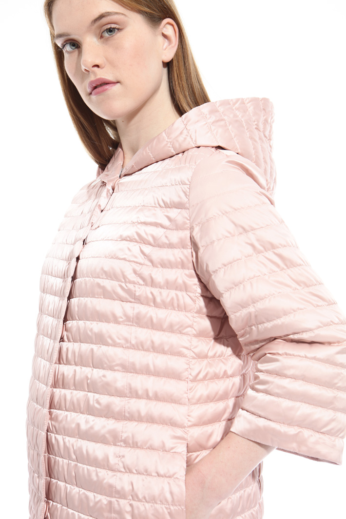 Technical satin padded jacket  Intrend