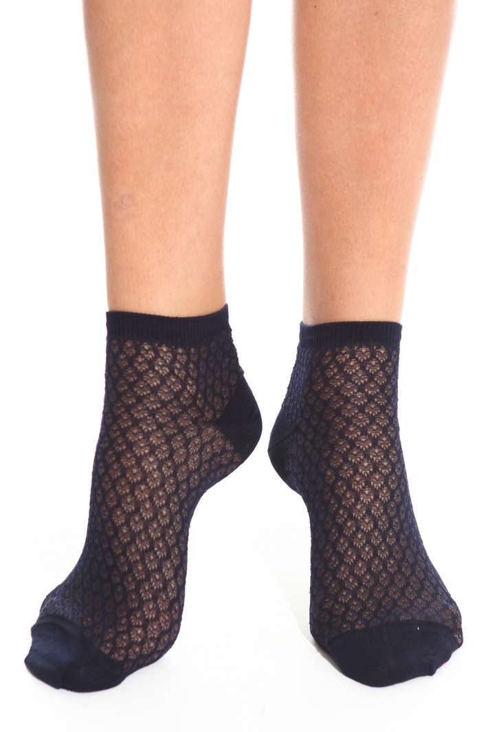 Mesh socks Intrend