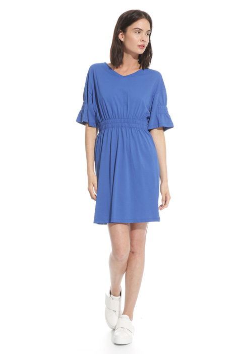Dress with elastic insert Diffusione Tessile