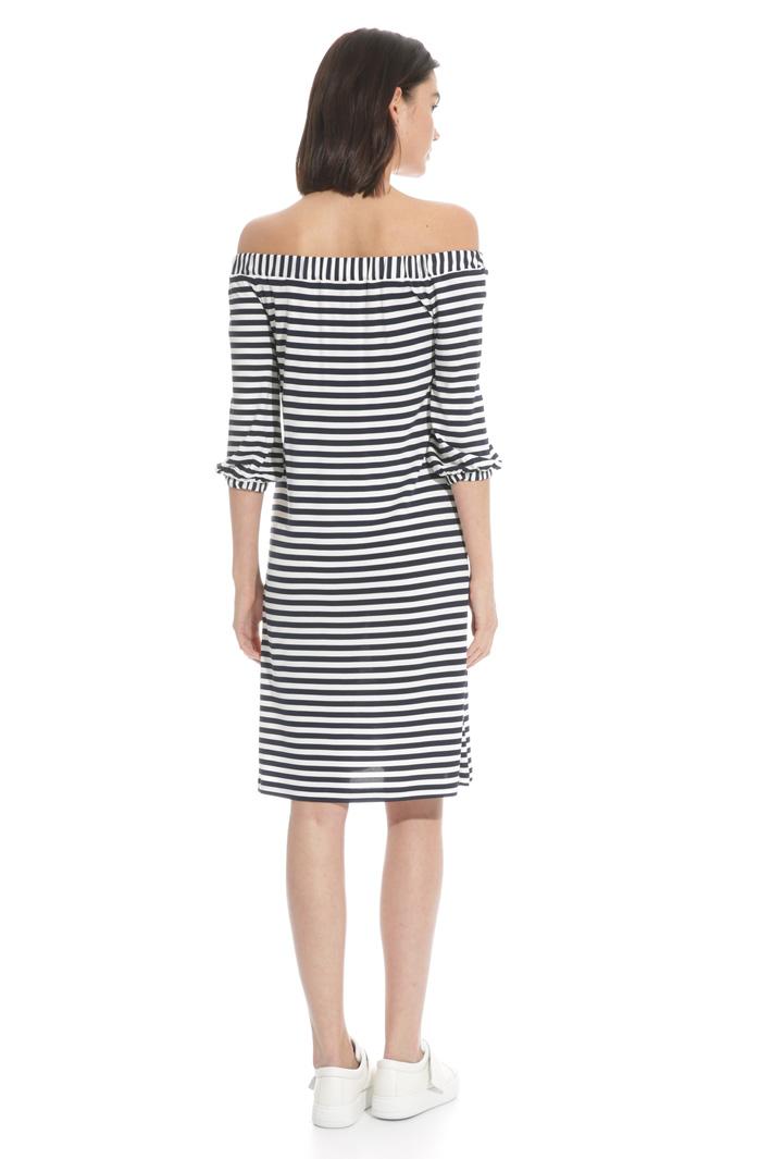 Bardot neckline dress  Intrend