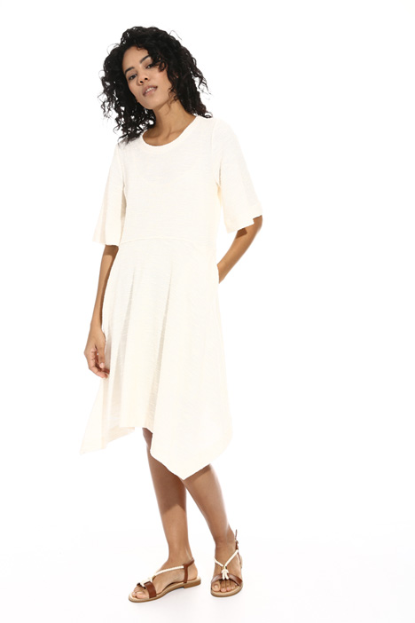 Bouclé jersey dress Intrend