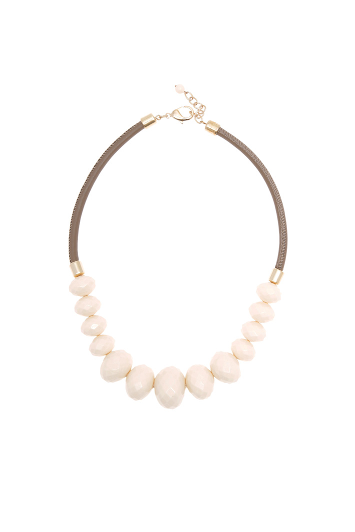 Multi-faceted hem necklace Diffusione Tessile